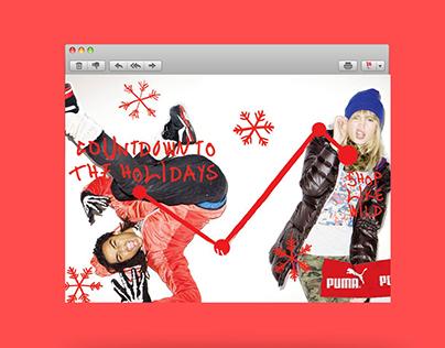 PUMA AW13 Snowflake Illustrations