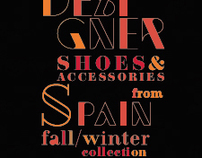 LOOKBOOK SHOES&ACCESSORIES FROM SPAIN