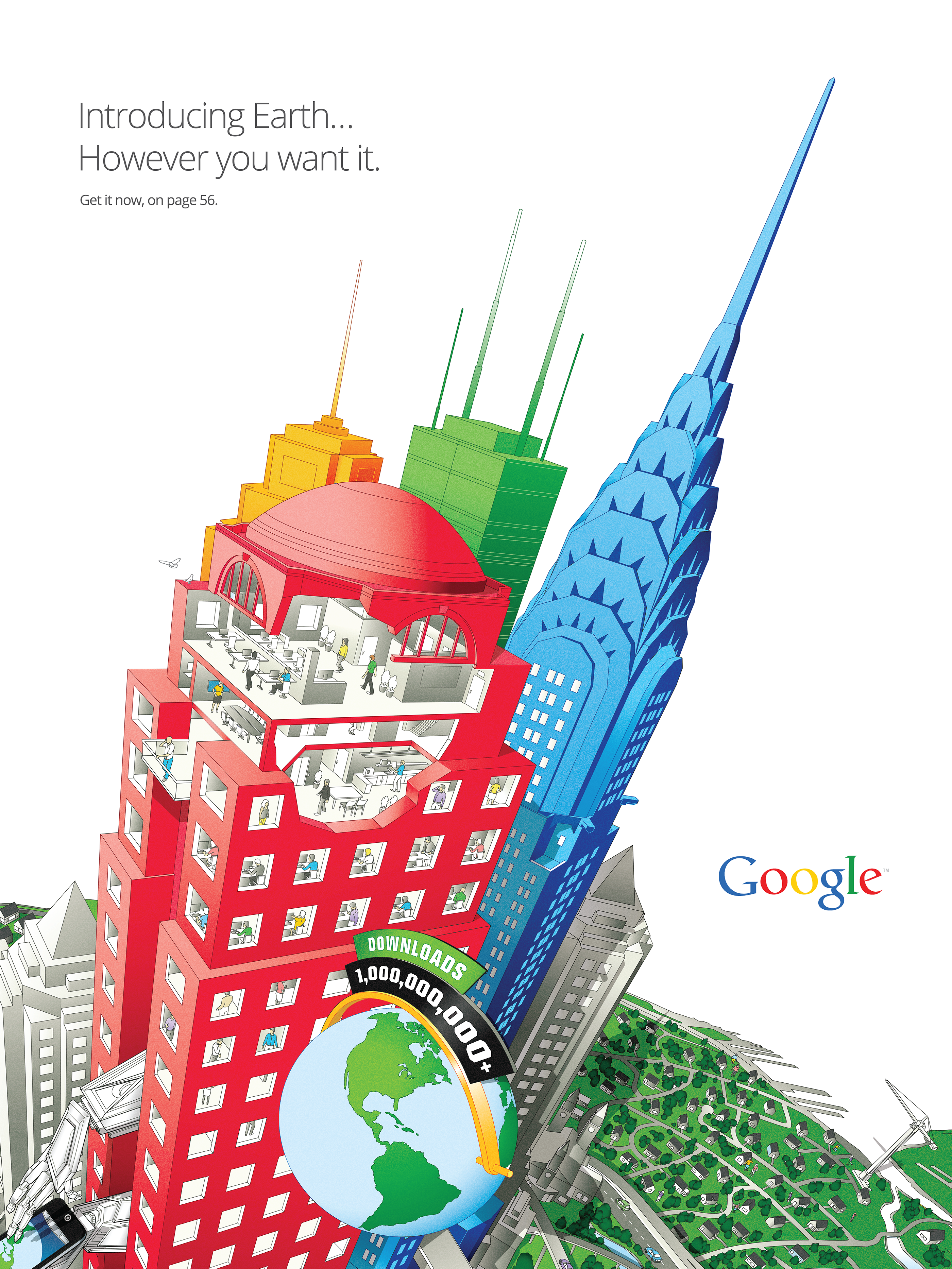 Google Maps Poster