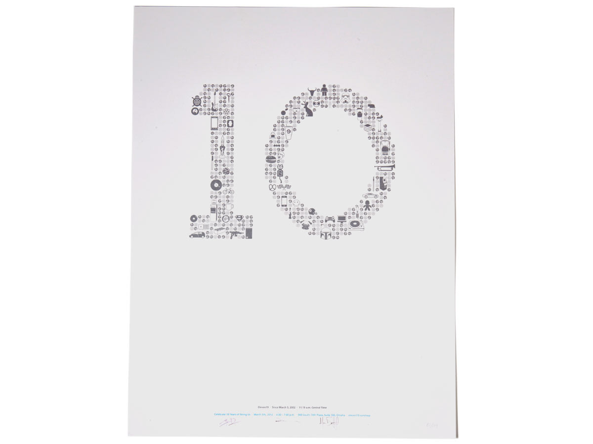 Eleven19 – 10 Year Poster