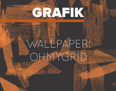 Oh My Grid wallpaper