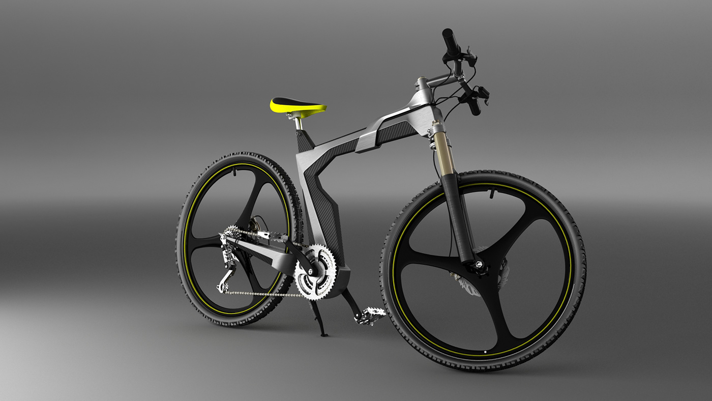 Artless concept bike