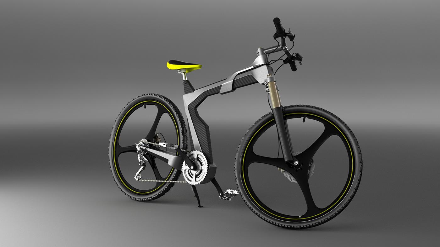 Artless concept bike for LOMBARDO
