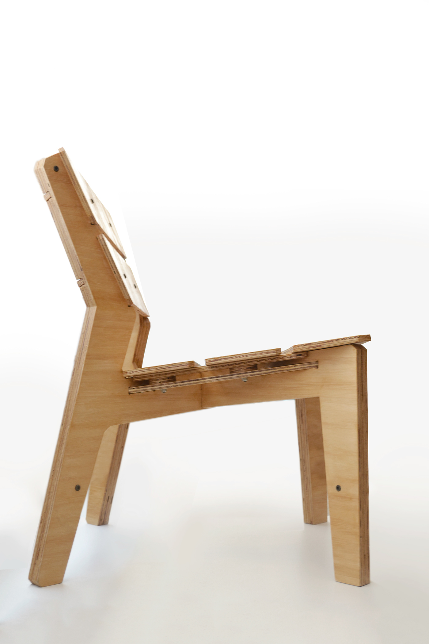 Kross Chair by lesmo - Free DIY CNC Furniture