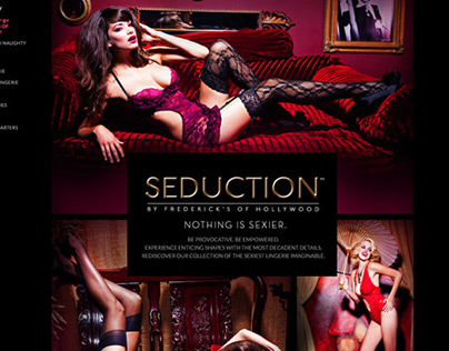 Seduction Collection shot by Galore Magazine