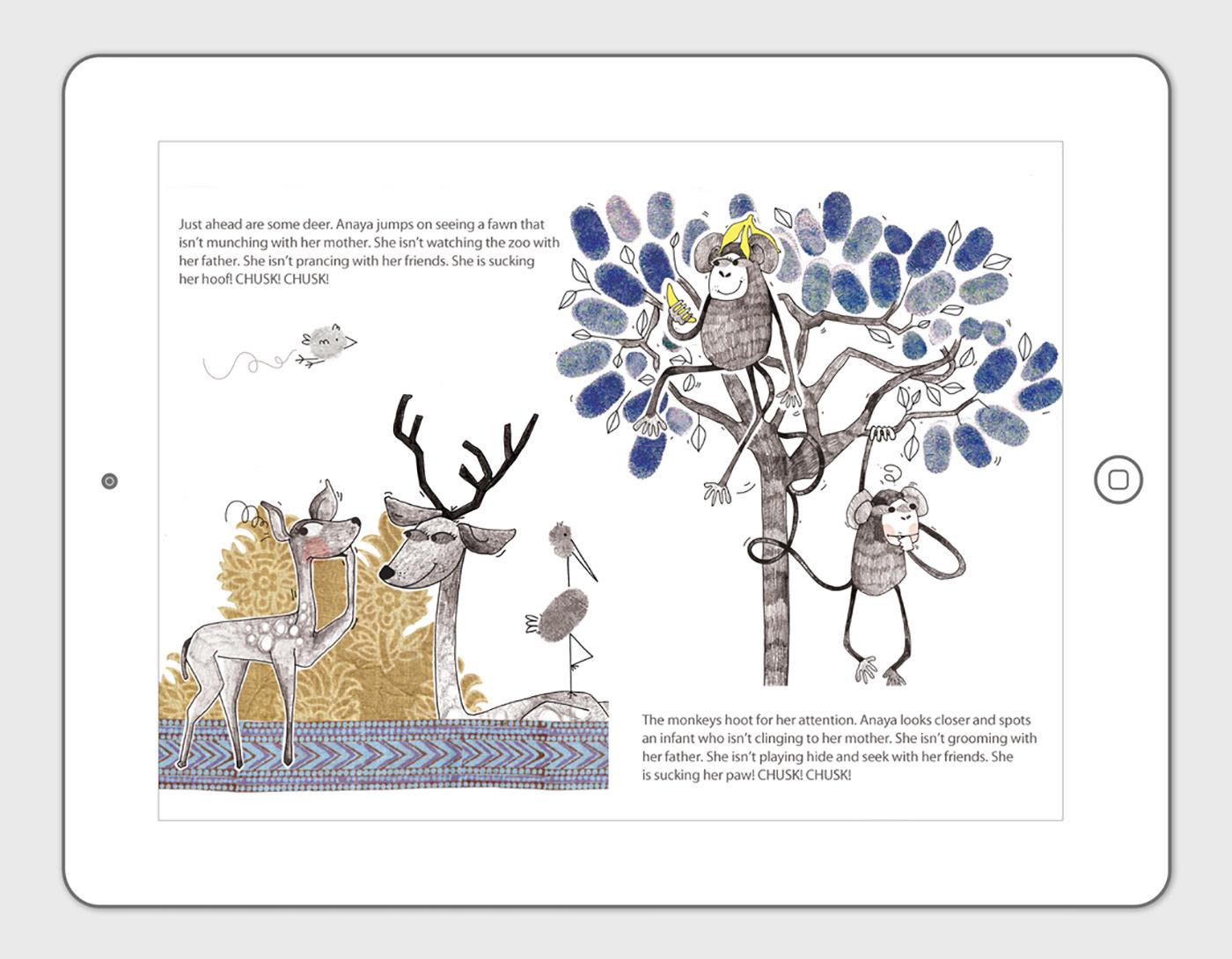 More Childrens Book Illustrations - for Pratham Books