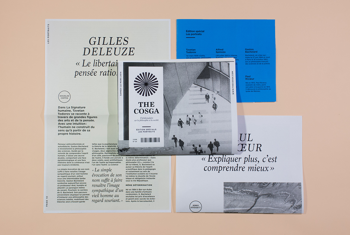 The Cosga / Newspaper