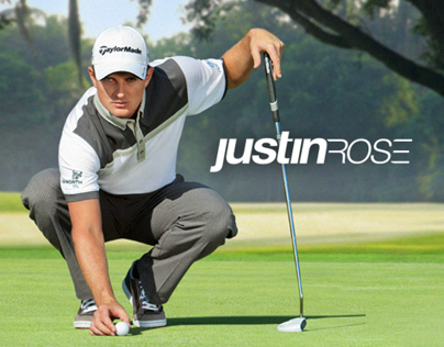 Justin Rose - Website & Identity