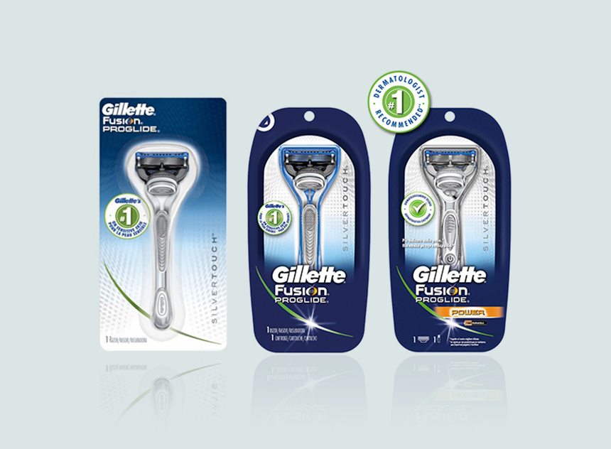 Gillette Fusion ProGlide | Packaging