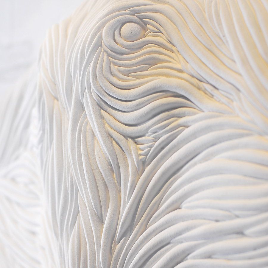 Batoidea sculpture