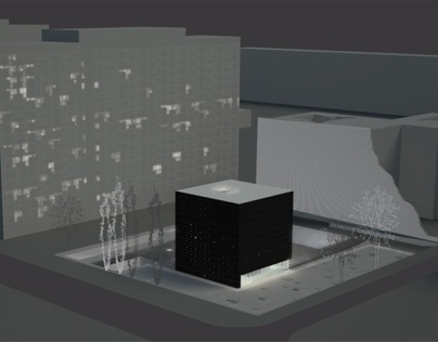 Informatorium/City Info-Box - diploma project