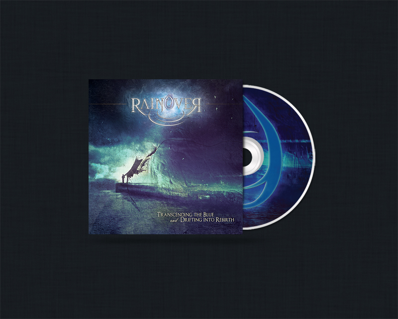 Rainover CD packaging design