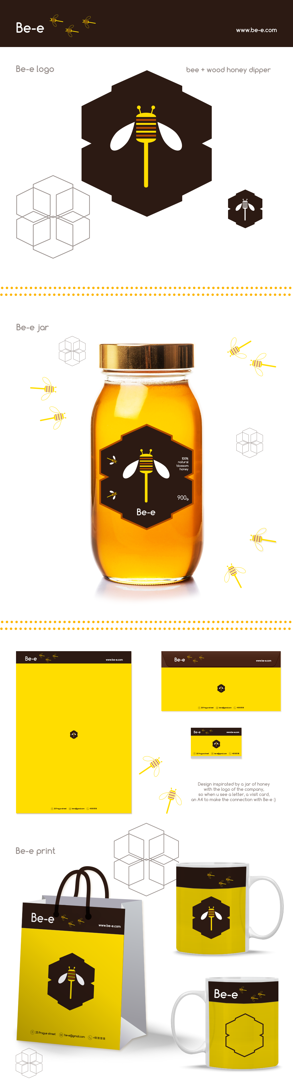 Corporate Identity for Troya Honey