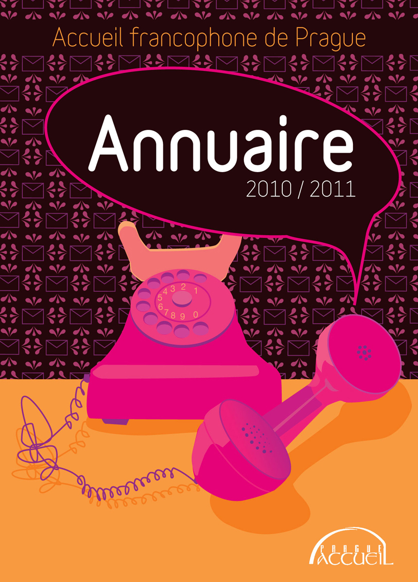 Cover designs and illustrations for Annuaire