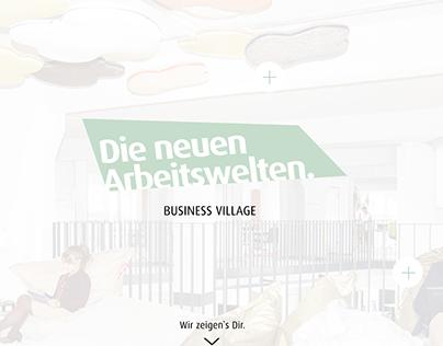 branding and website business village