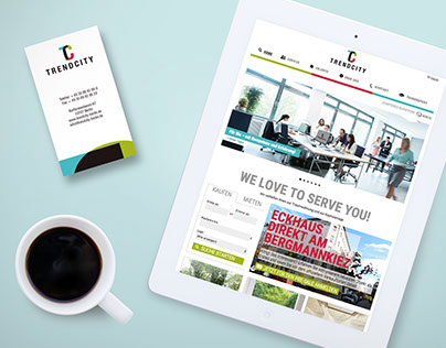 Corporate Design: TRENDCITY (Real Estate)