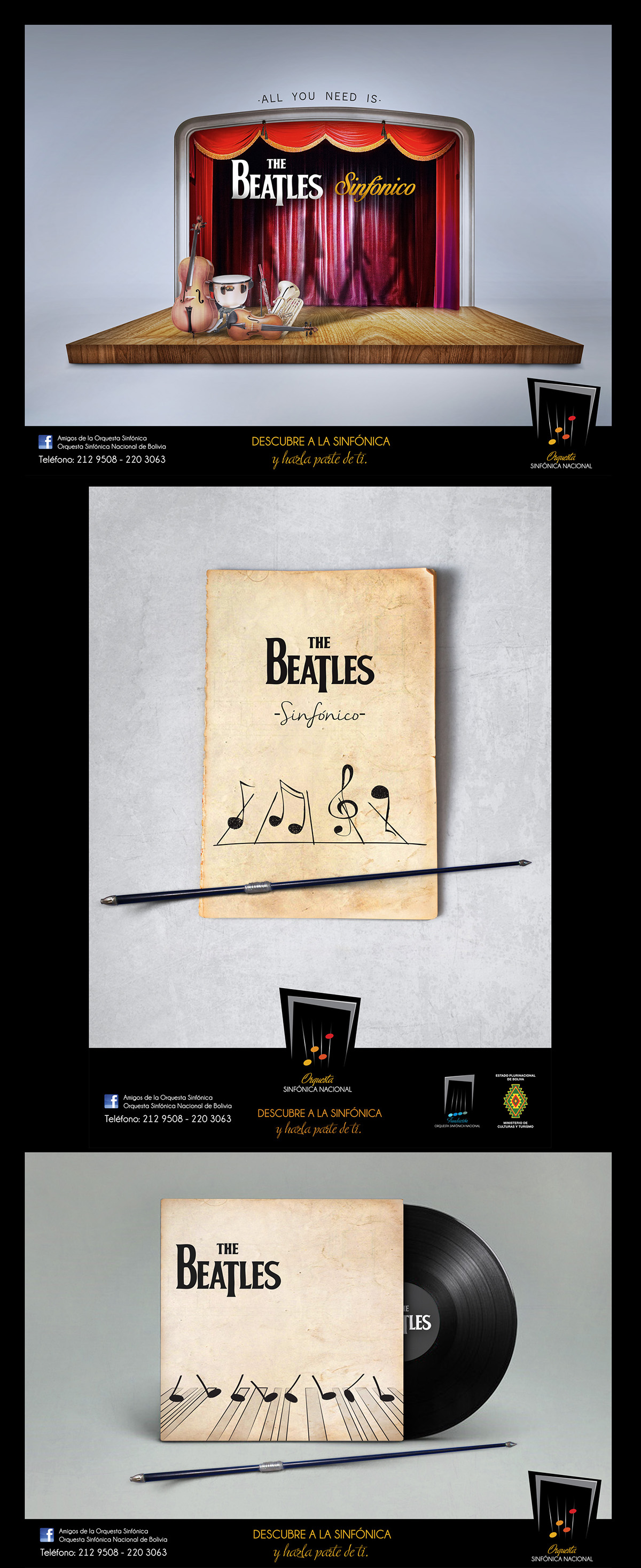 Ideas THE BEATLES SINFÓNICO
