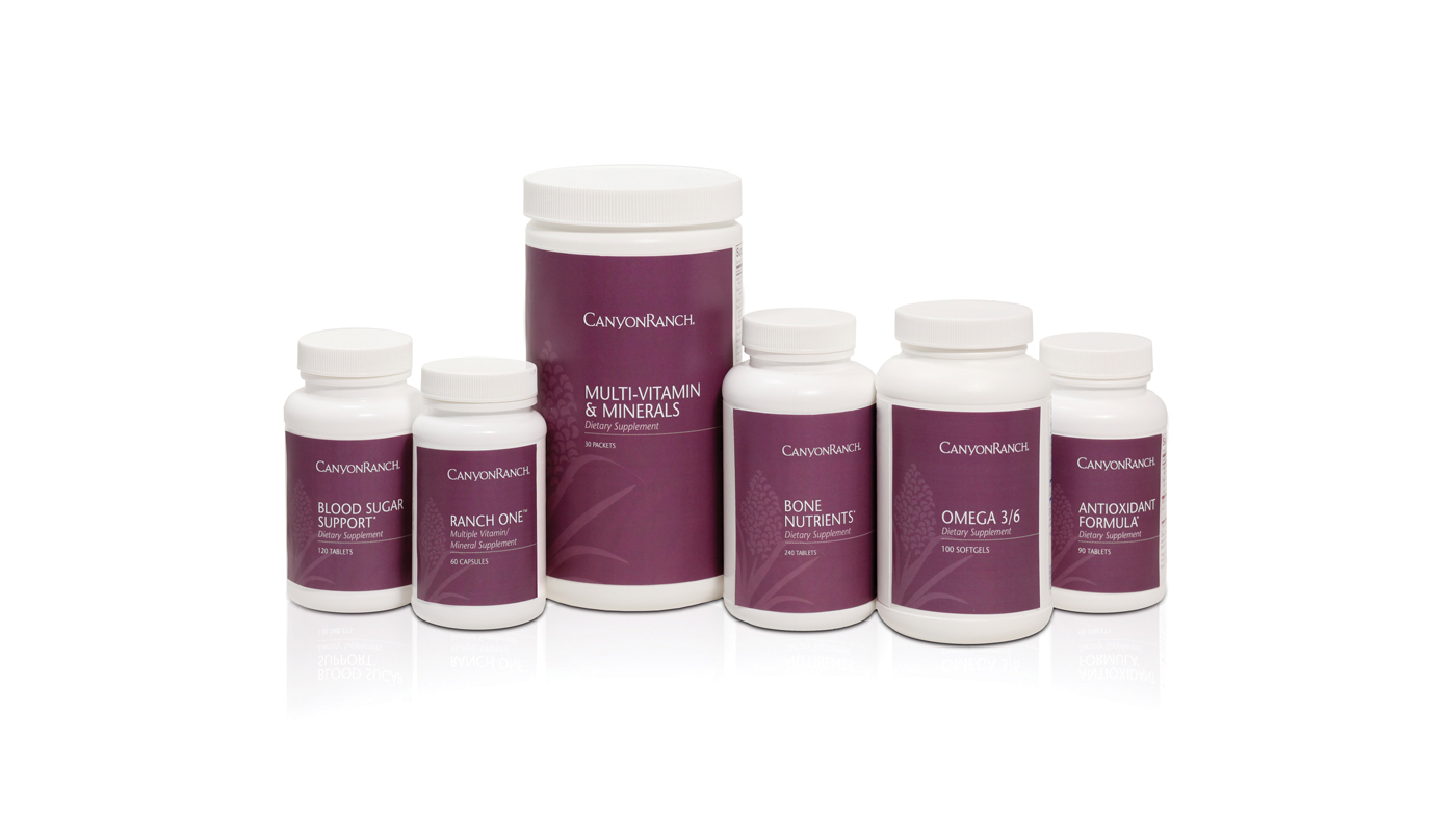 Canyon Ranch Supplement Line
