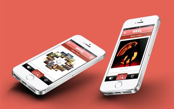 Weel - iOS Photo Application