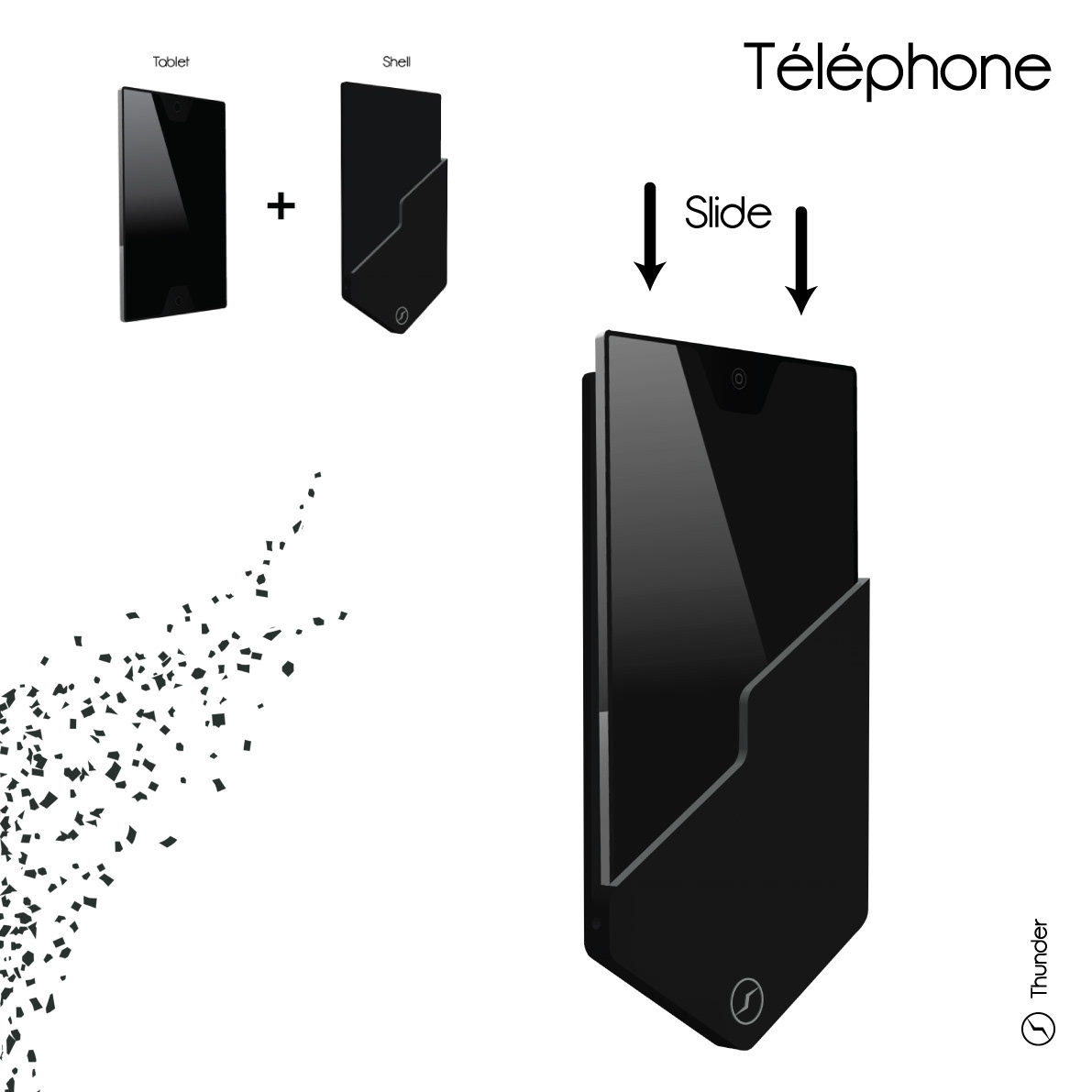 Thunder : Smartphone Concept
