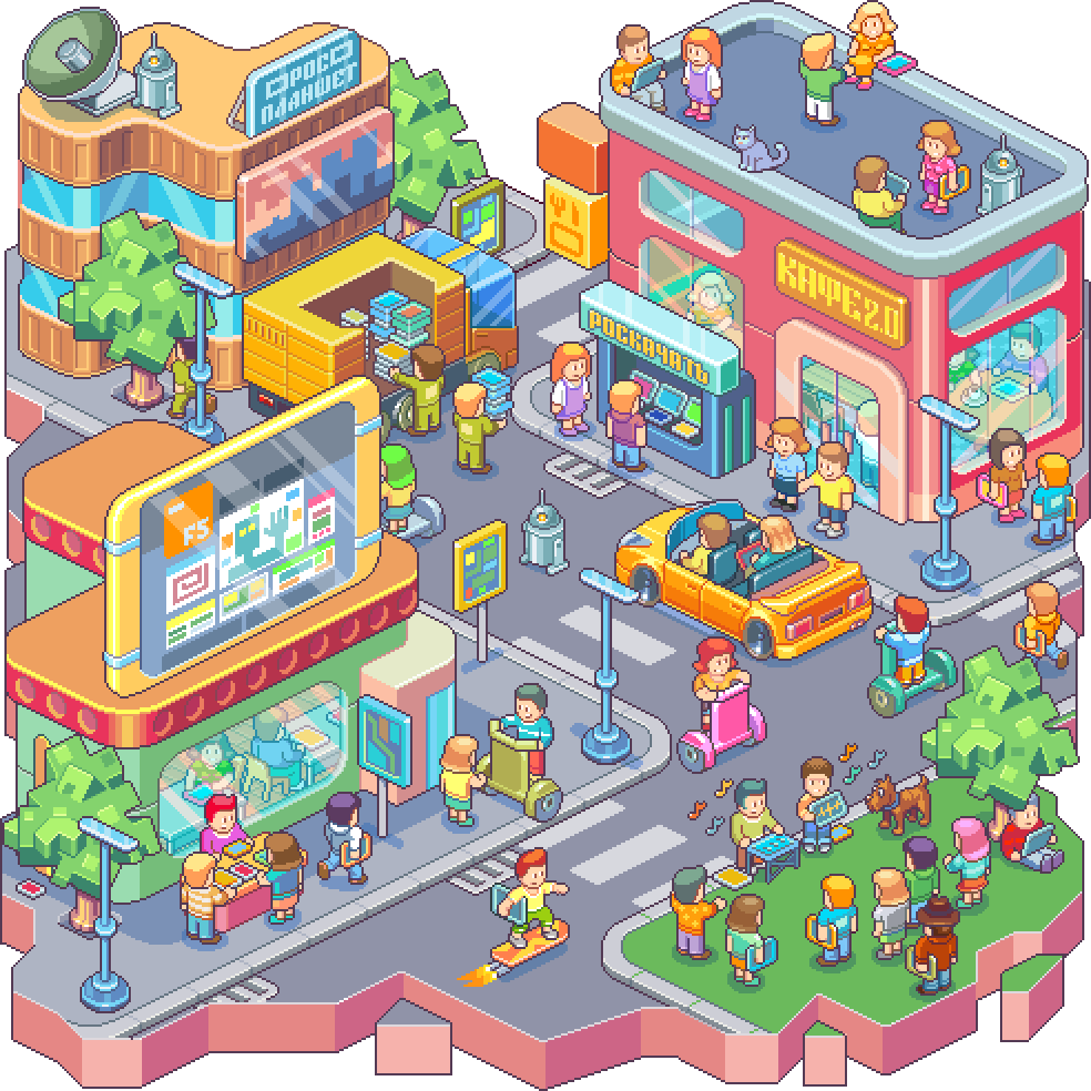 Pixel arts vol.2