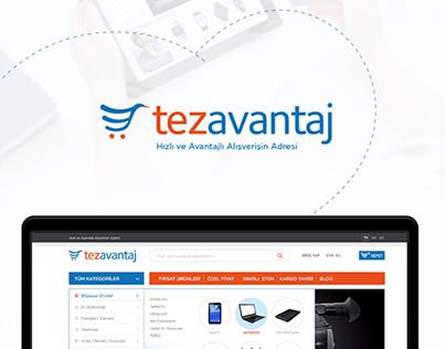Tezavantaj Shopping Website