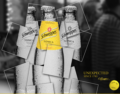 Schweppes Facebook and Youtube profile