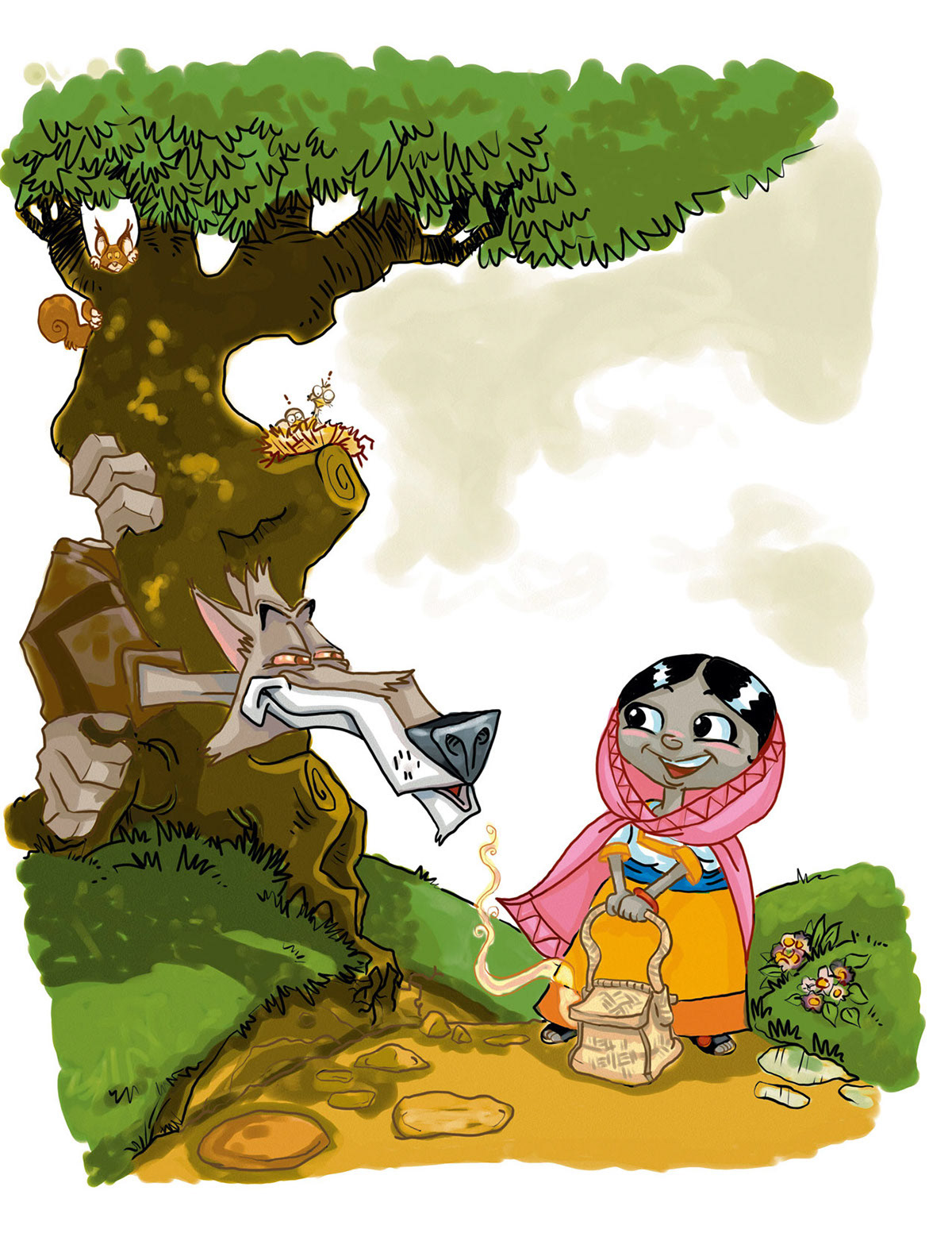 TWISTED FABLE: Little Pink Ridding Hood