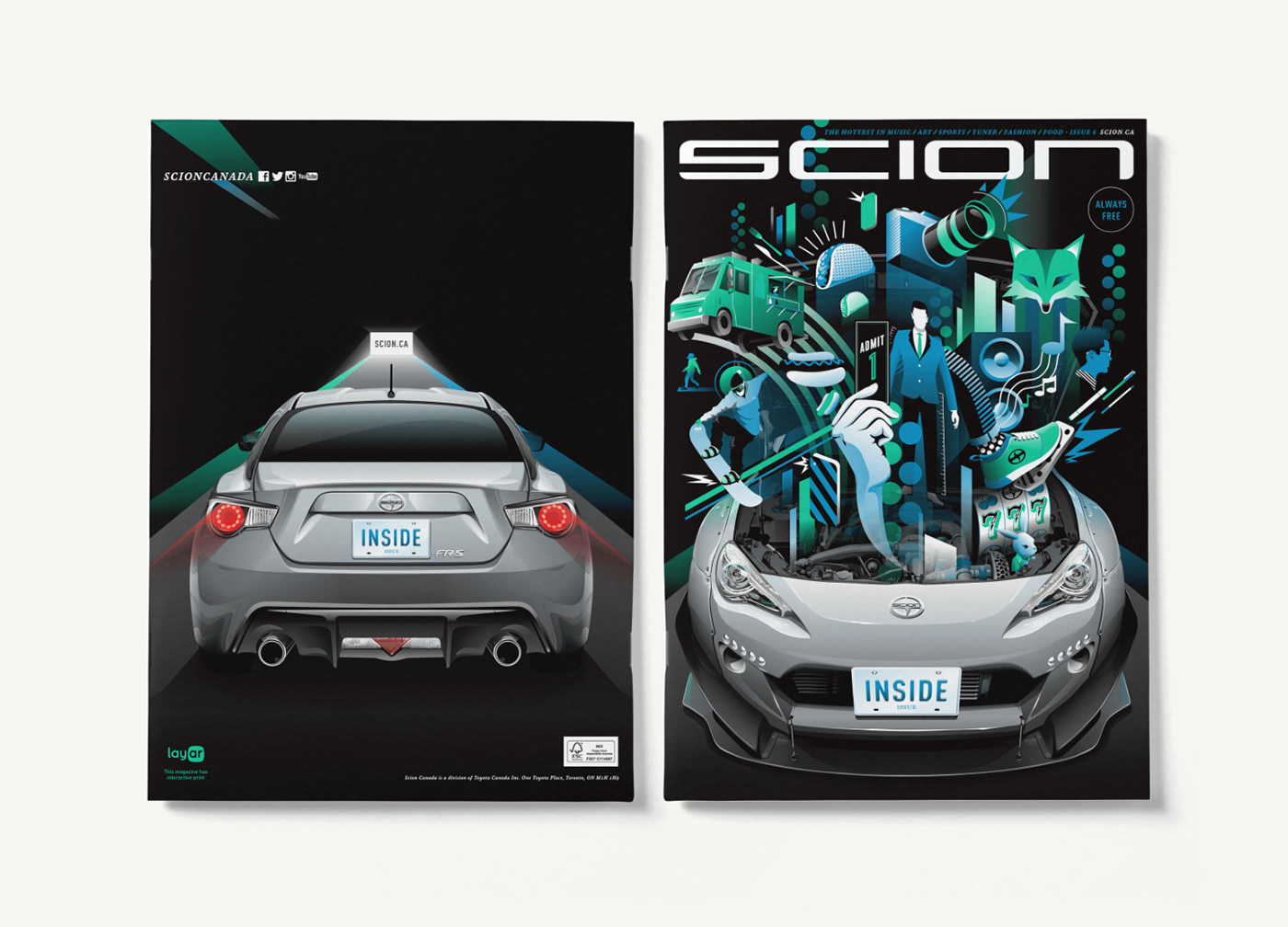 Scion Magazine - Issue #6 (Inside issue)
