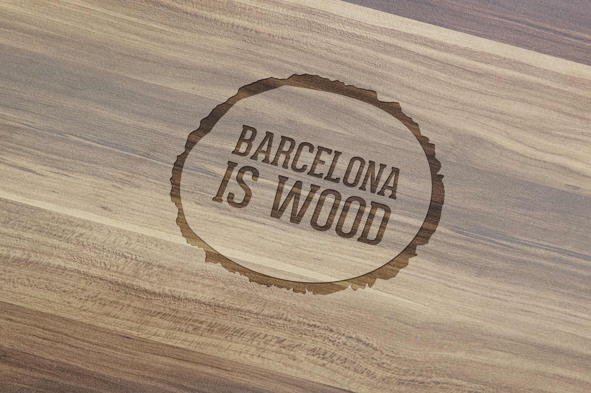 Barcelona Is Wood. Woodworks