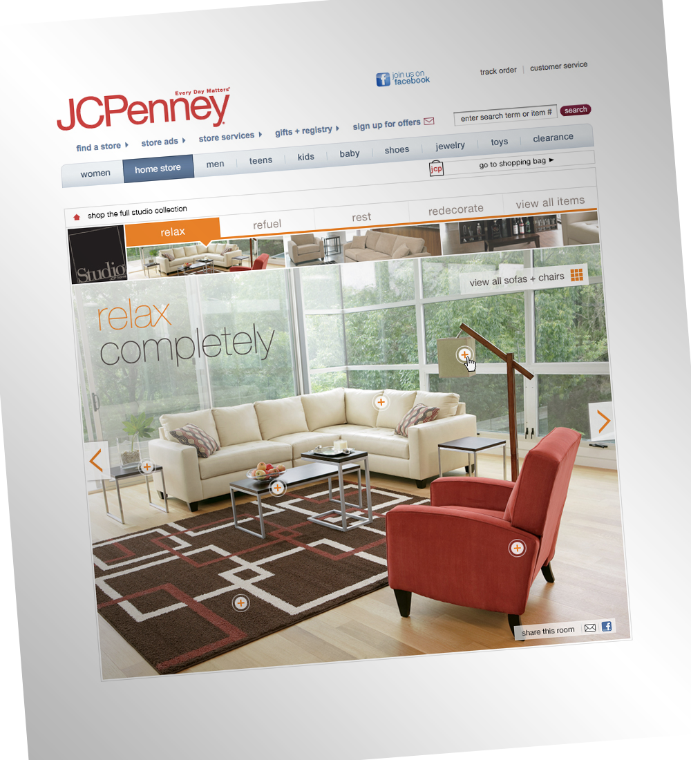 Studio Microsite for JCP