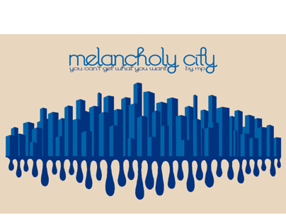 melancholy city