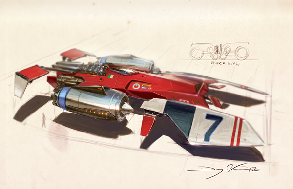 MS Space Racer