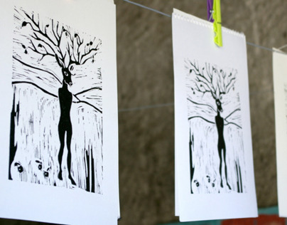 linocutting