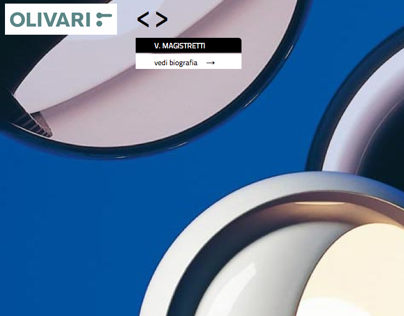 OLIVARI | Catalogue & Website | at Marco Strina Studio