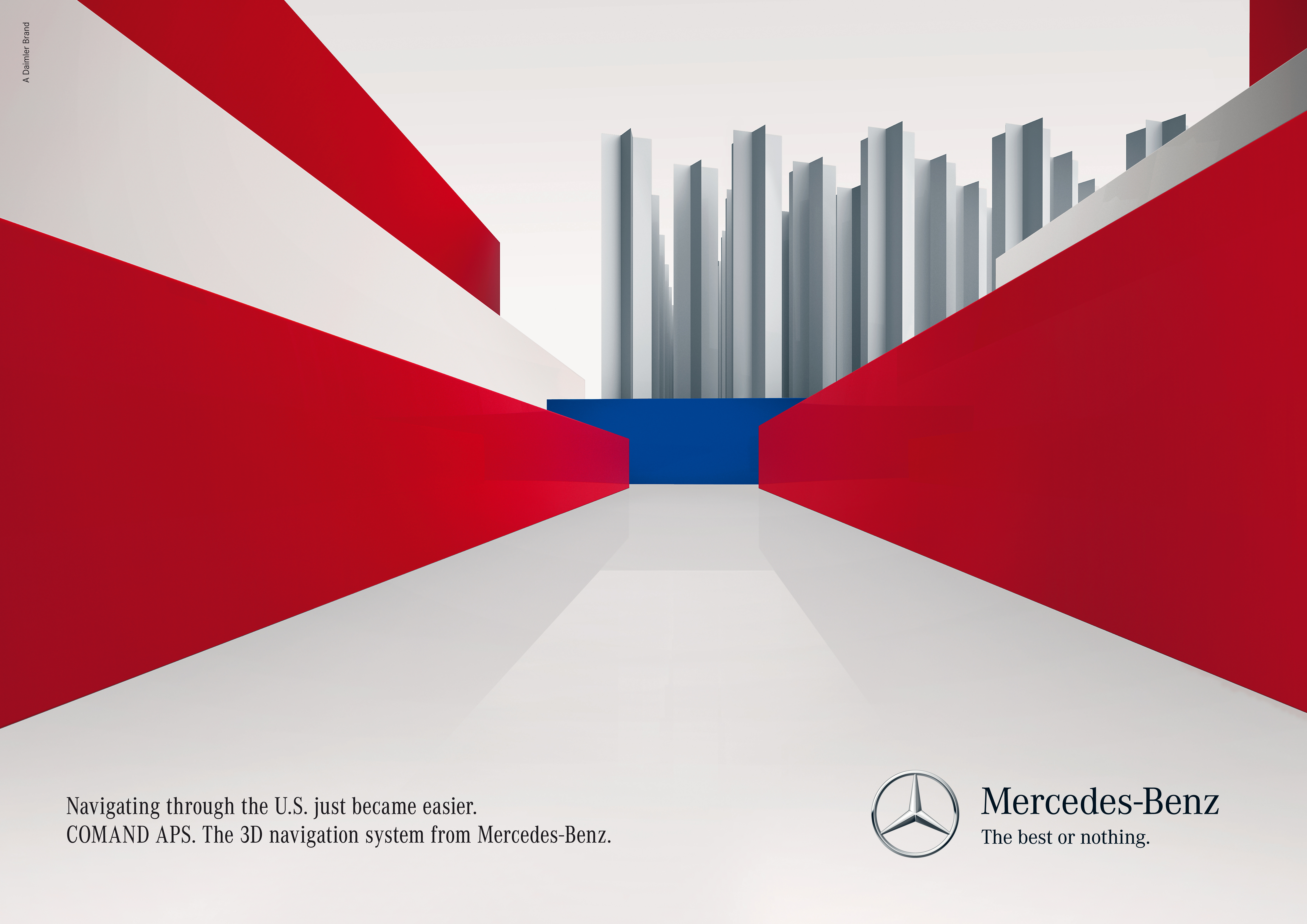 Mercedes-Benz 3D Navigation (Print)