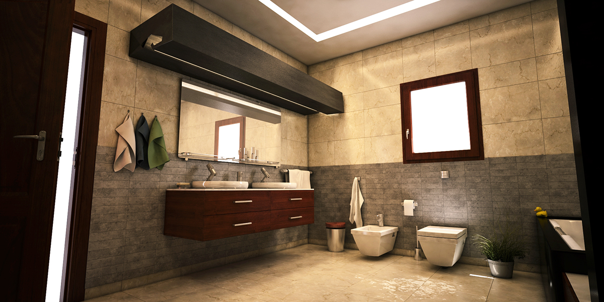 Residential bathroom Visualize