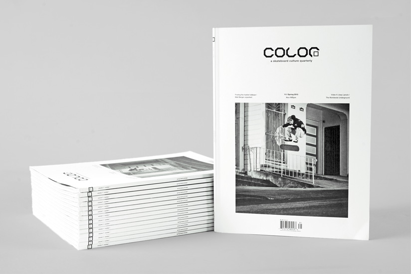 Color Magazine Redesign