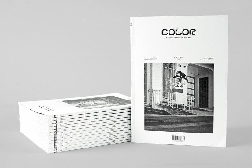 Color Magazine Redesign