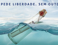 concurso central de outdoor . pergaminho