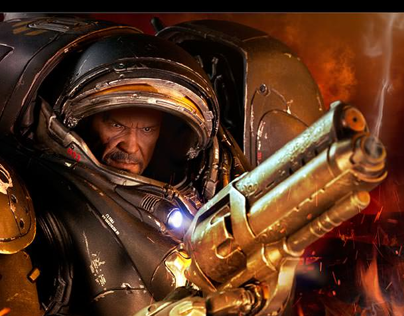 StarCraft2 Raynor 1/6th scale figure