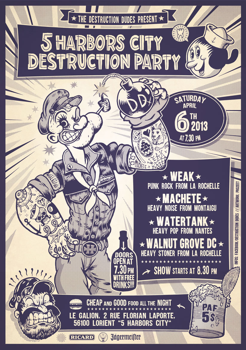 DESTRUCTION PARTY