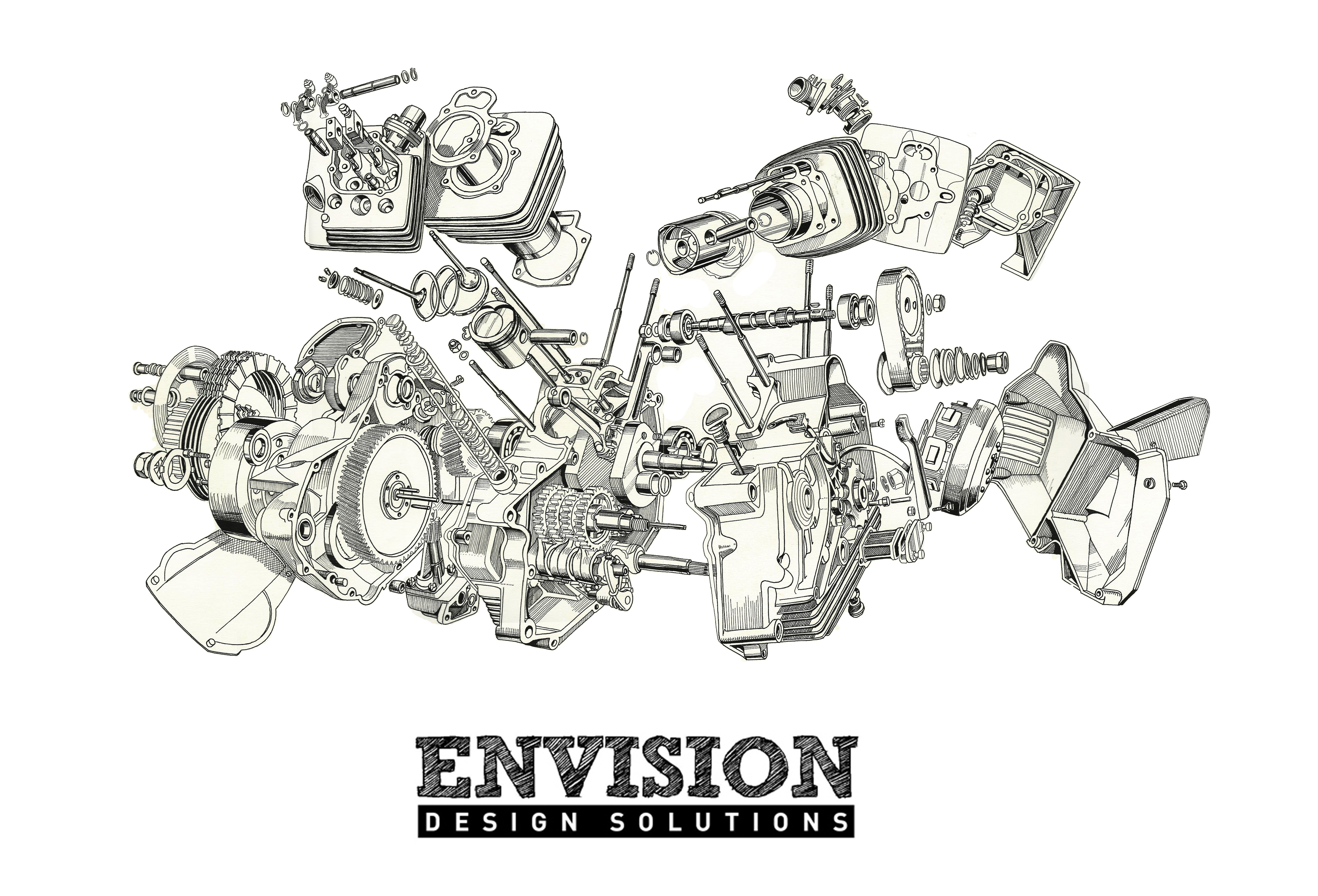 moto morini 350cc engine