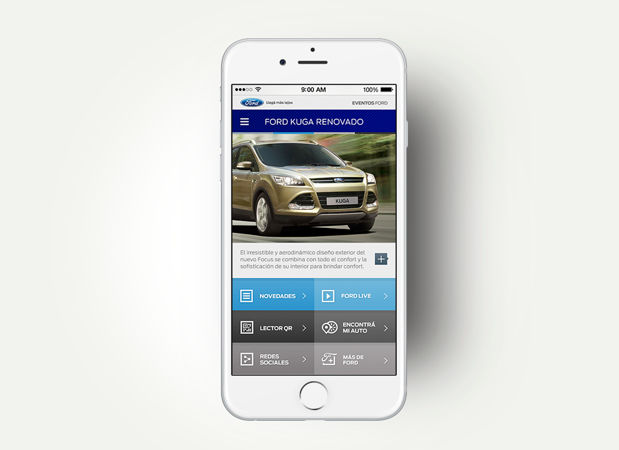 Ford Mobile - Mobile App