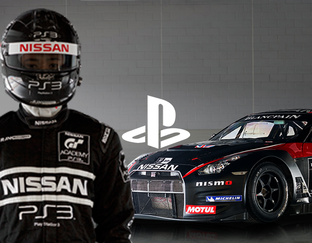 PlayStation Nissan Facebook App