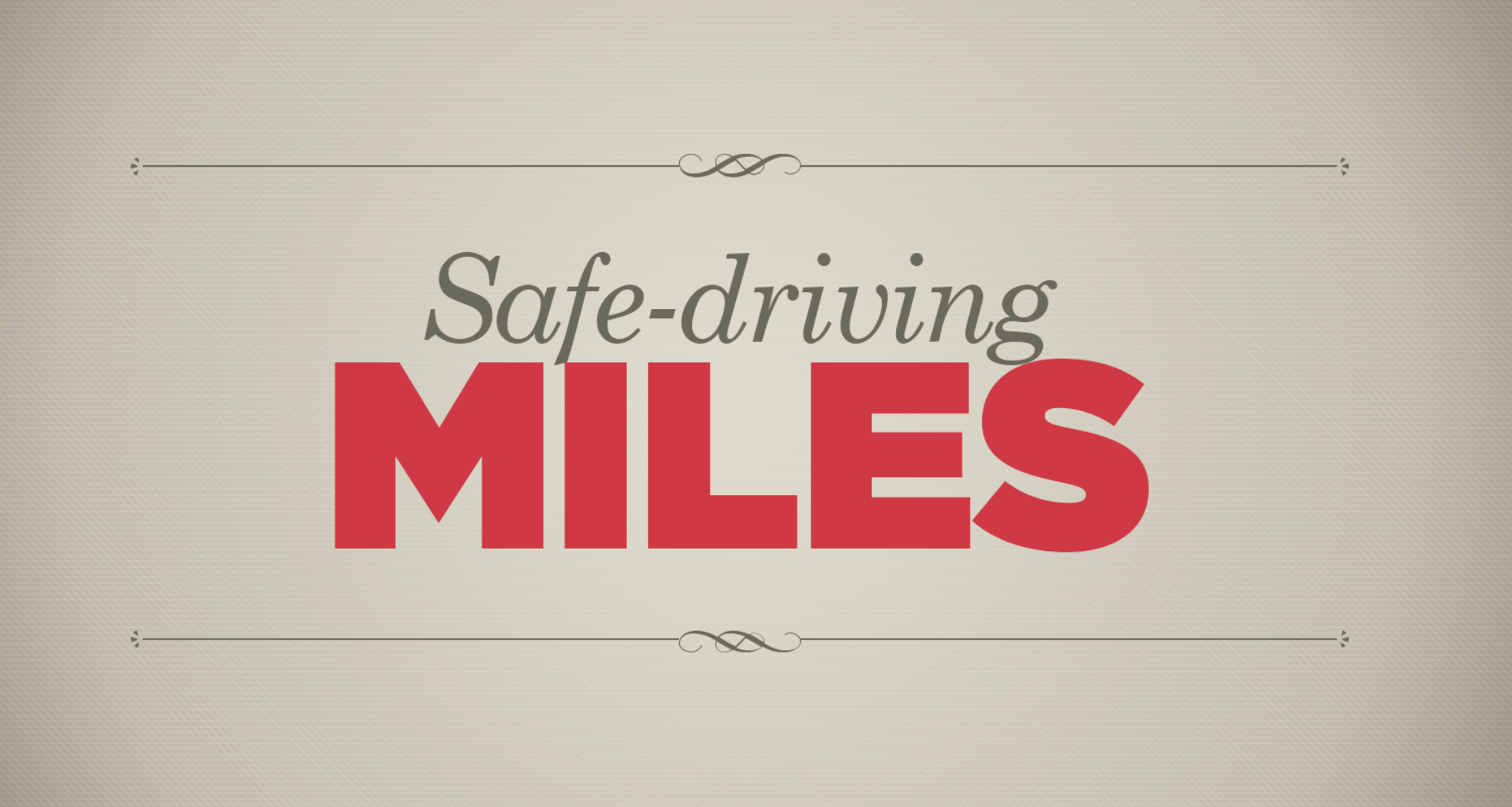 Banorte Insurances. Safe-driving Miles