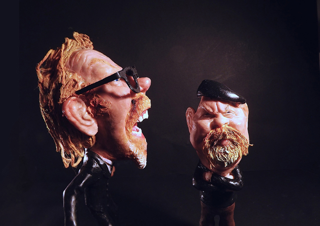 Sculptured Caricatures