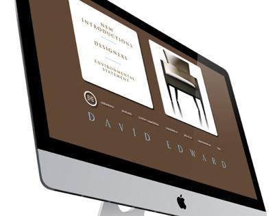 David Edward | Website Redesign