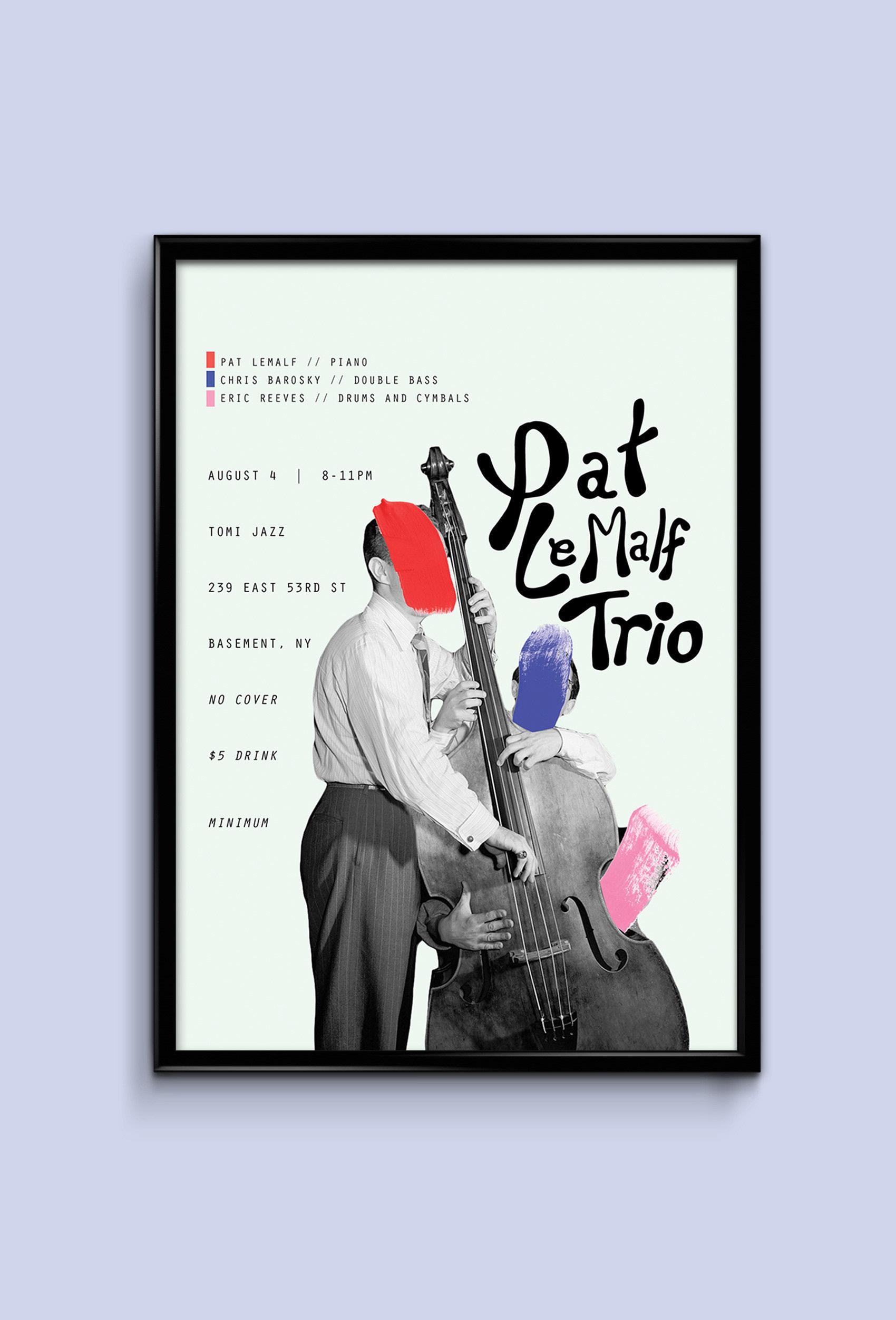 Peter LaMalfa Trio Event Poster