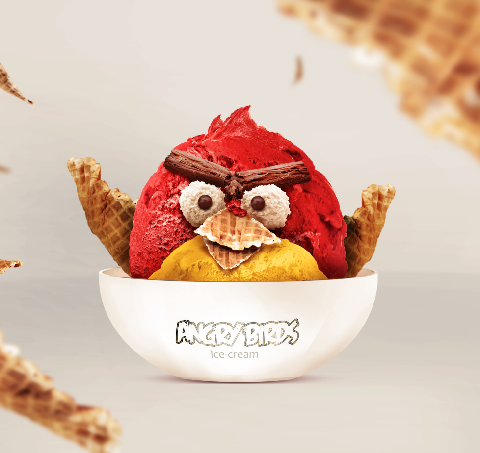 Angry Birds - Ice Cream